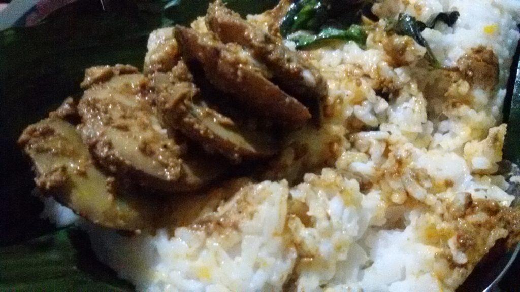 Resep Nasi Bakar Semur Jengkol