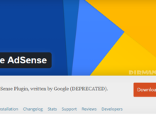 Google Official Adsense Wordpress Plugins Di Berhentikan
