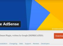Google Official Adsense Wordpress Plugins Di Berhentikan