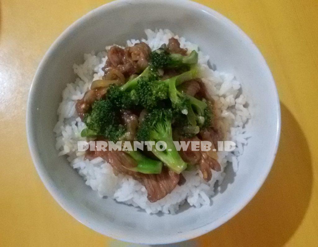 Resep Ca Brokoli Daging Sapi