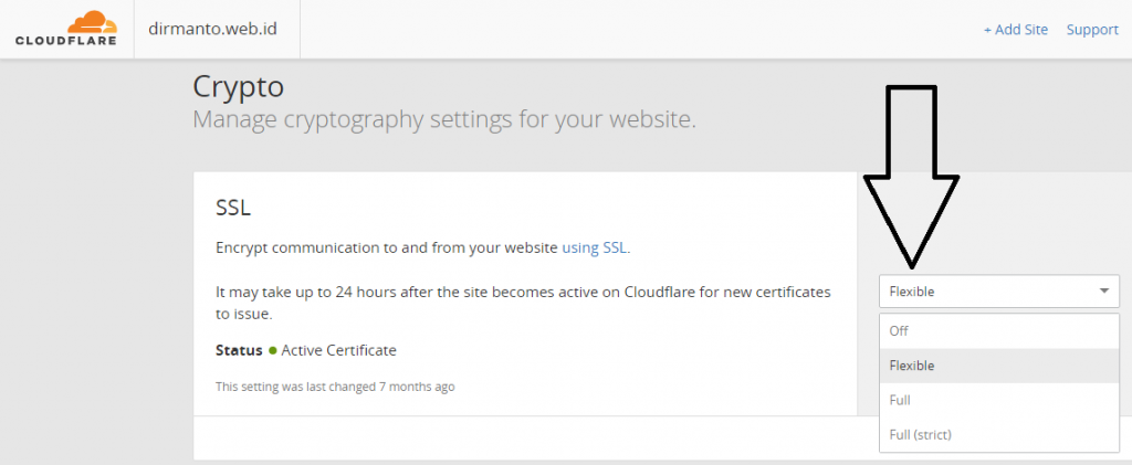 Cara Mendapatkan Fitur SSL Gratis CloudFlare