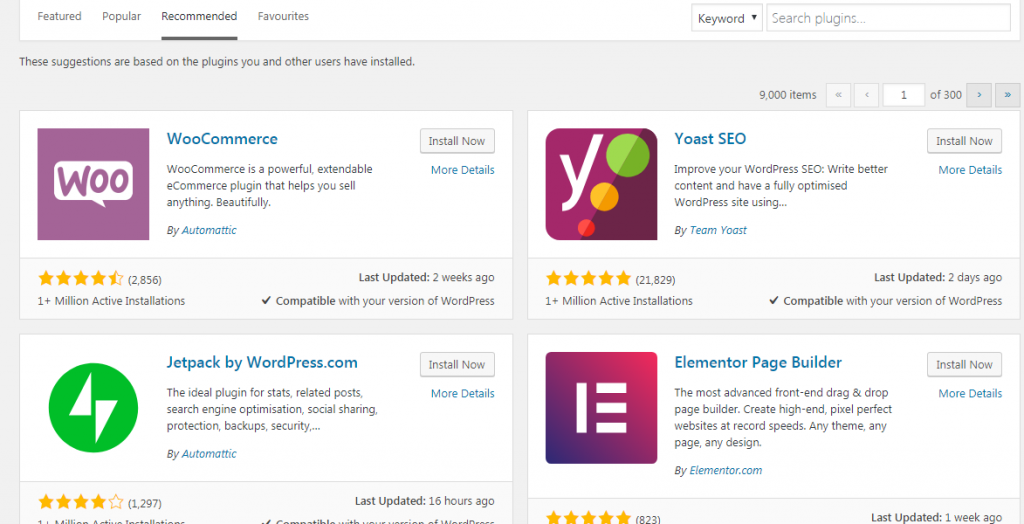 Plugin WordPress Apa Yang Perlu Digunakan