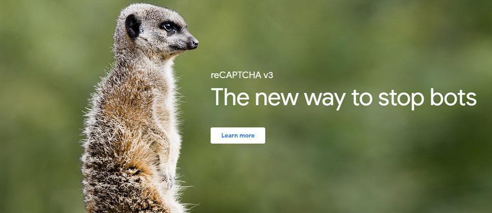 Aman dari Spam Bersama reCAPTCHA