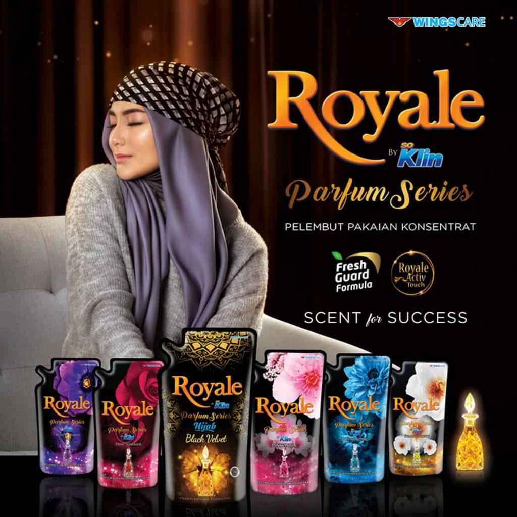 Produk Pewangi Pakaian Royale by Soklin