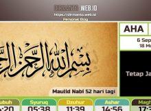 Mencoba Jasma Untuk Jadwal Sholat Digital
