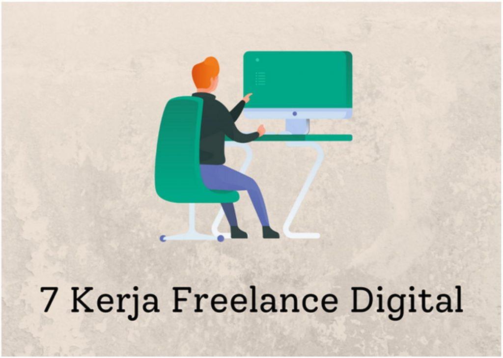 7 Kerja Freelance Digital untuk Dapatkan Penghasilan Tambahan