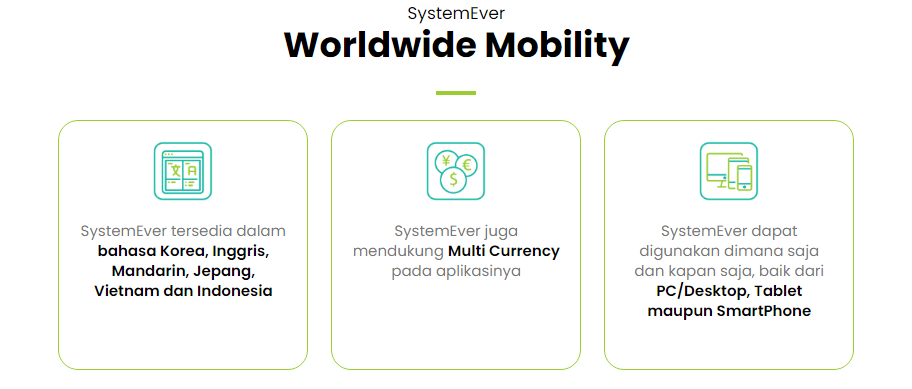 SystemEver : Wordlwide Mobility