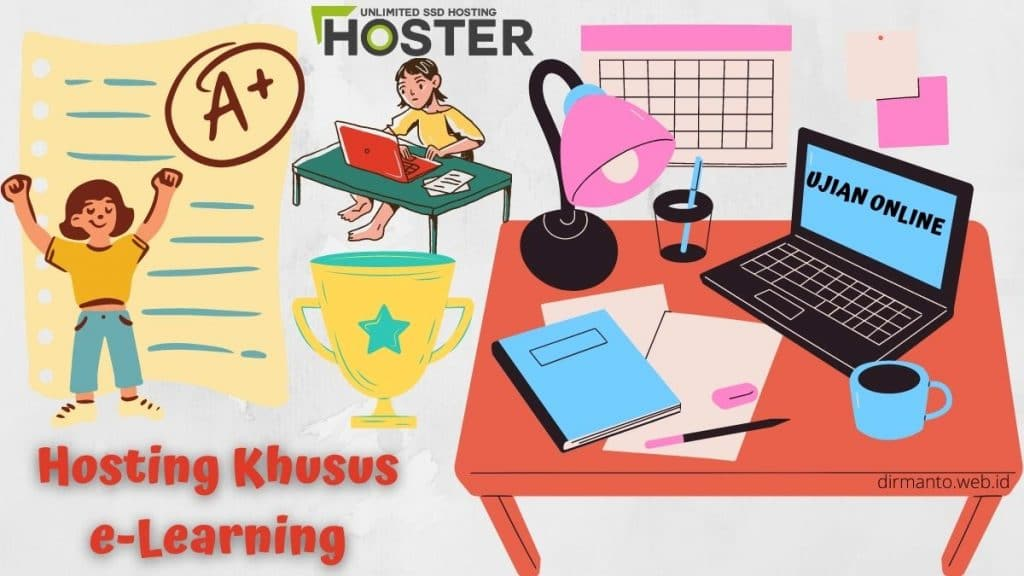 4 Paket Hosting e-Learning Khusus Tersedia di HOSTER.co.id