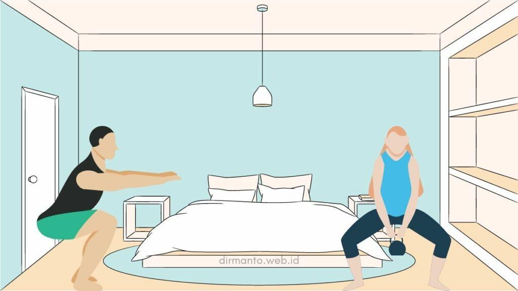 Bisa Dilakukan Di Rumah : Inilah 3 Jenis Olahraga Mengecilkan Paha