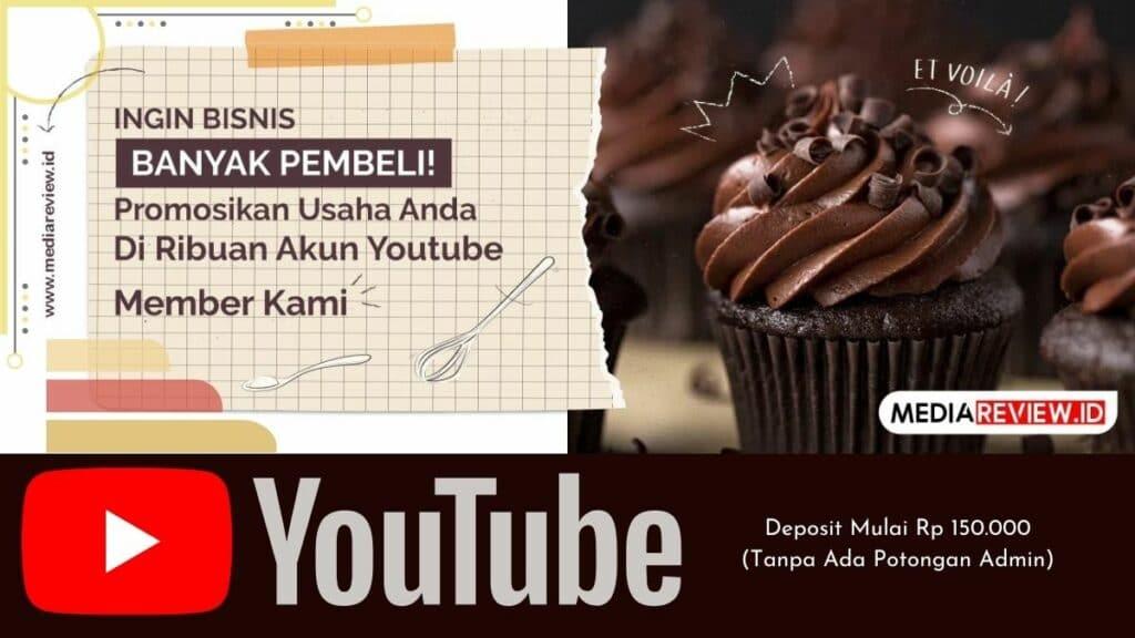 Cari Layanan Promosi Youtube? ke MediaReview Saja!