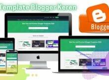 3 Pilihan Template Blogger Keren di Templateify